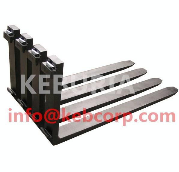 forklift fork arm high quality ISO2328 standard steel bar hook type ITA fork 6.0T