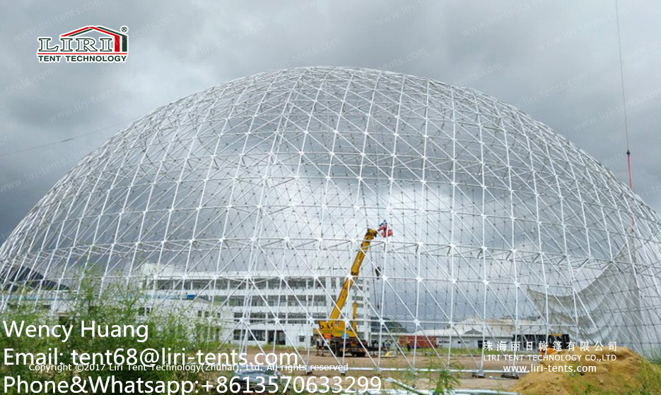 Good Quality Big 55m Dome Tents with PVC Roof Cover