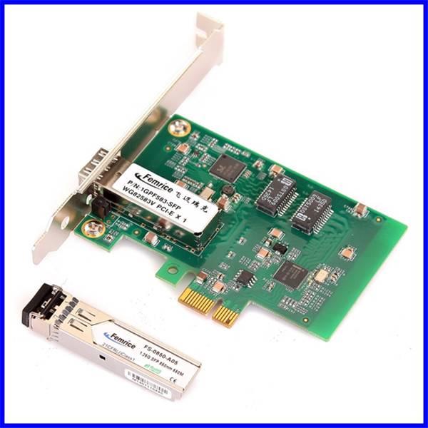 1000Mbps Single Port Gigabit Ethernet PCI Express x1 Desktop Computer Adapter