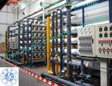 150T RO water treatment equipment for high quality water