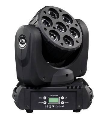 sell LED BEAM WASH MOVING HEAD 7x12W 4IN1