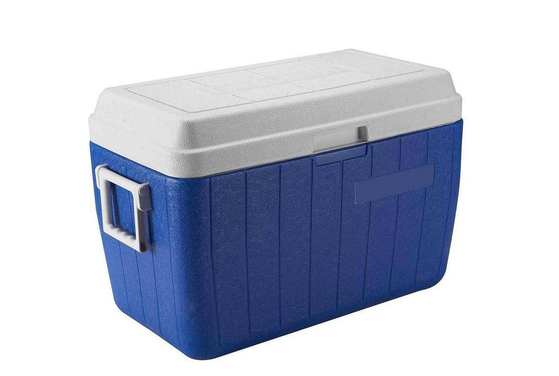 52L plastic environmental fishing cooler box