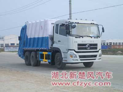 Garbage truck, dirt-wagon,refuse wagon,dustcart,dump cart,rubbish collector,refuse collection vehicl
