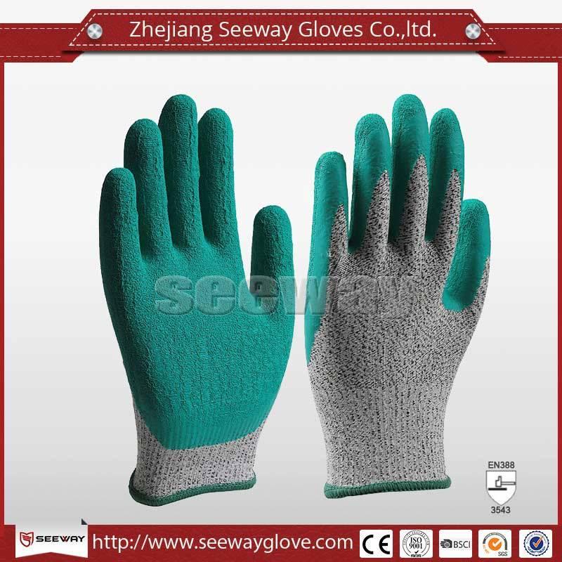 SeeWay Colorful Latex Gloves Cut resistant