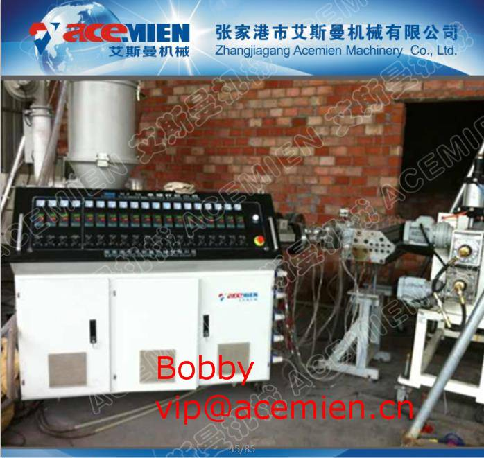Low noise-plastic roof sheet extrusion machine