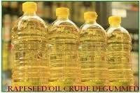 CRUDE DEGUMMED RAPESEED OIL PRODUCT