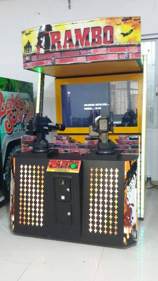 Rambo Shooting Game Machine Arcade shooting game machine