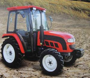 4wd big farm tractor 55HP