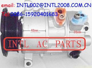 DENSO 5SE12C auto ac a/c compressor DODGE CALIBER JEEP PATRIOT Compass 6PK PV6 pulley 5058228AE