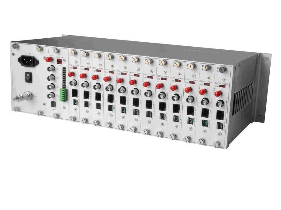64ch Digital AV Optic Transceiver