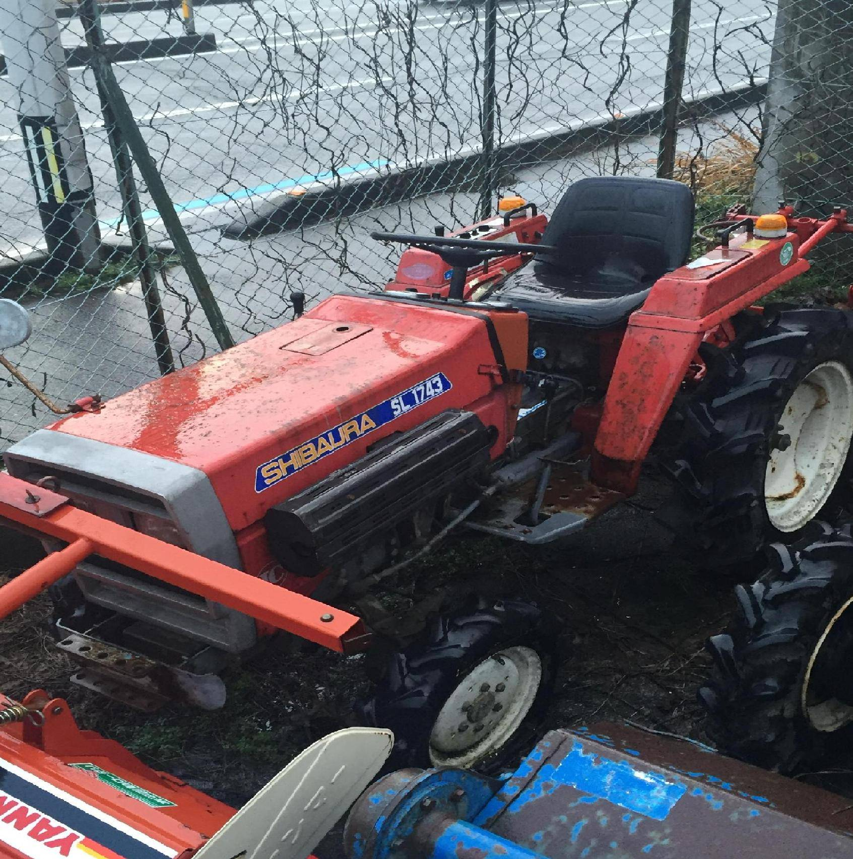 Used tractor Shibaura SL1743 Unit 1