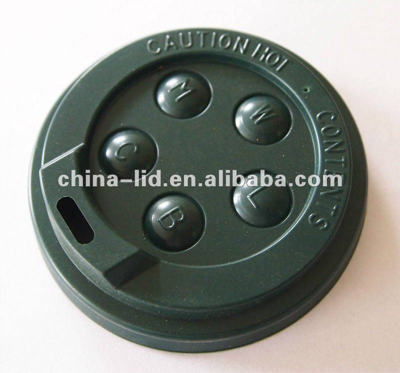 disposable plastic coffee cup cover