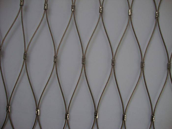hot sale wire rope woven mesh
