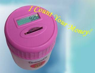 Digital Coin-counting Jar