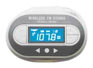 Full channel FM transmitter with LCD