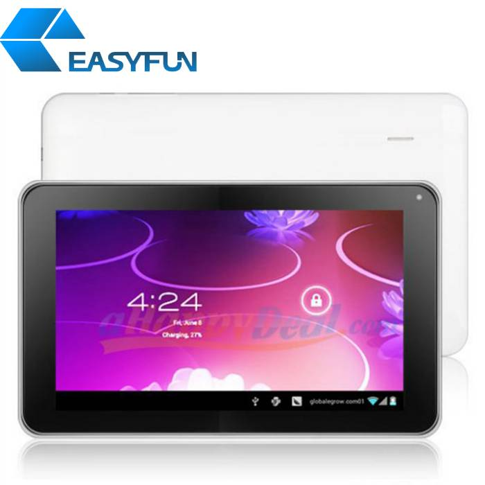 9'' Tablet PC/MID Allwinner A13 Android 4.0 DDR3 512MB RAM + 4G ROM 5-point touch Dual camera