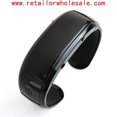 Wholesale Latest Bluetooth Bracelet Speaker Vibration Caller ID Display Digital Time