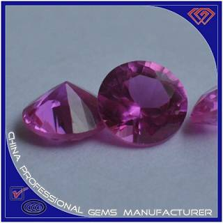 Special Round Shape Pink Jewelry Ruby