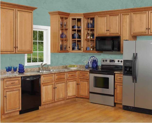 Custom kitchen cabinet American style China manufacturer