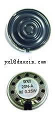 DX20N-A mylar speaker 20mm mini speaker used in mobile phone