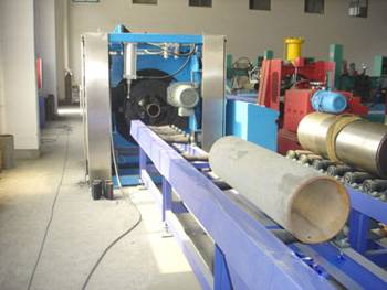 Pipe Logistics Transportation System for Cutting and Beveling Machine