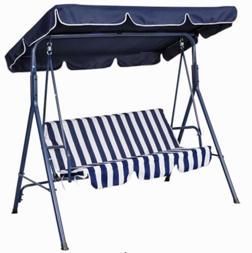 Outdoor Garden Furniture Three Seat Swing Chair