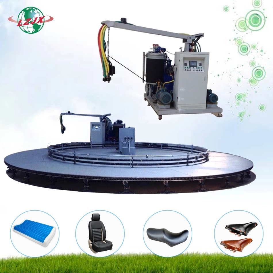 Polyurethane injection moulding machine