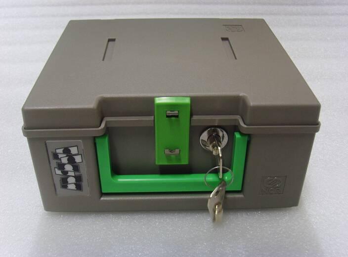 ATM NCR Cassette with lock keys 445-0693308