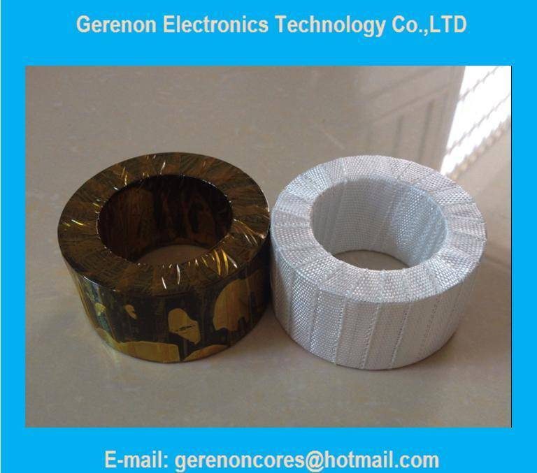 High frequency nanocrystalline core for current transformer