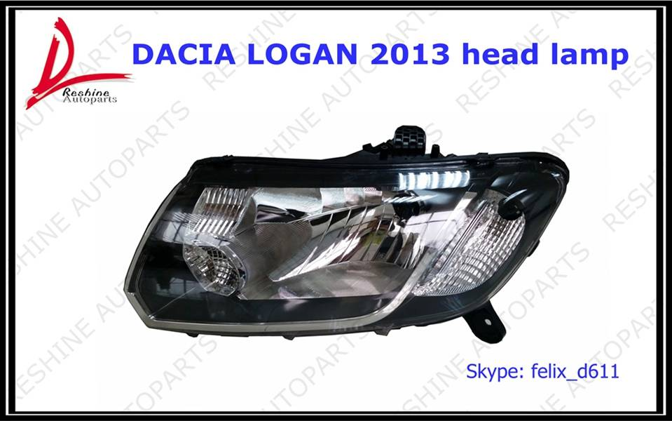 Renault/Dacia Logan 2013 head lamp
