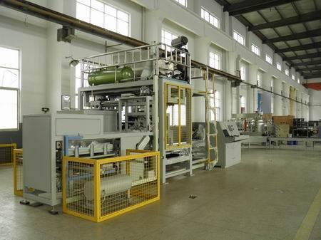 Bitumen filling machine