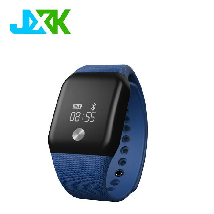 Newest Blood Oxygen Monitor Heart Rate Monitor Waterproof Smart Bracelets Wristband Memery 256MB JXK