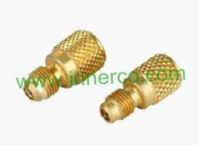 R410A Brass Charging Adapter