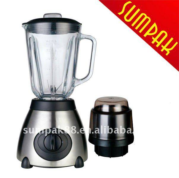 Stainless steel blender/juier blender/Food chopper blender with glass jar