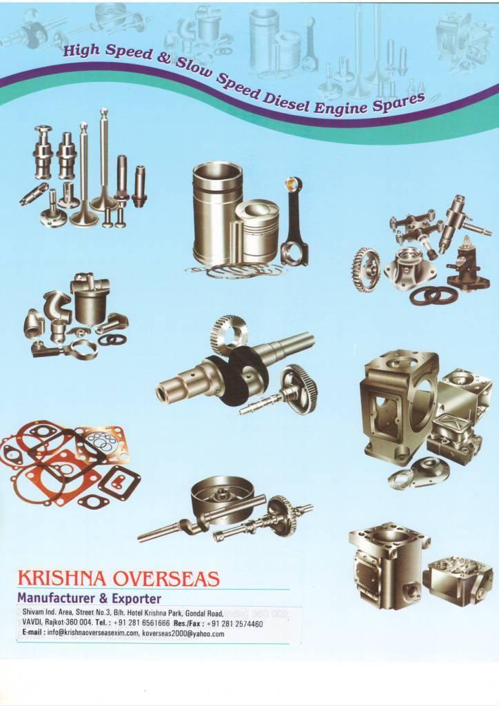 Diesel Engine Spares Parts & Components