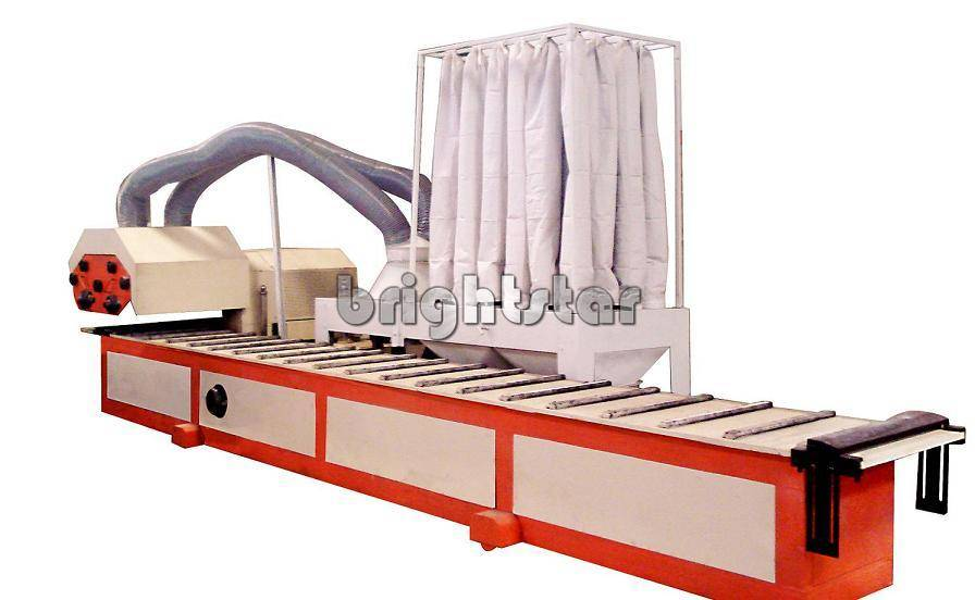 aluminium polishing machine