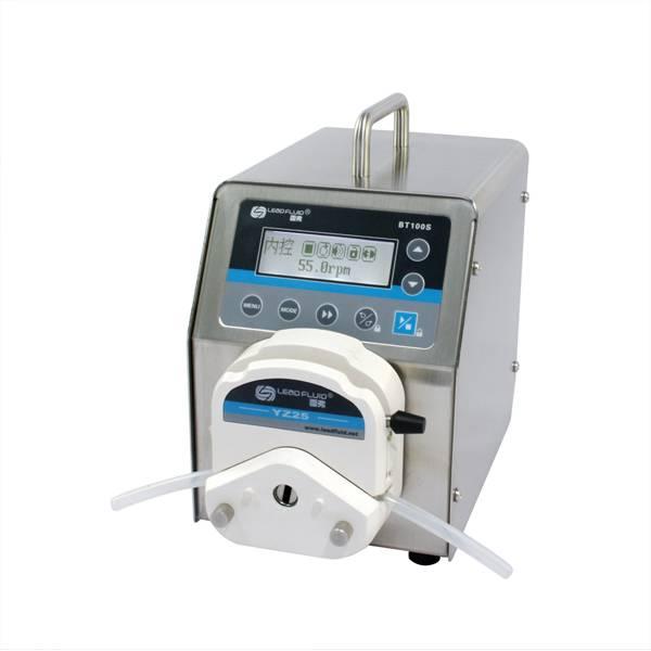 BT100S variable speed peristaltic pump