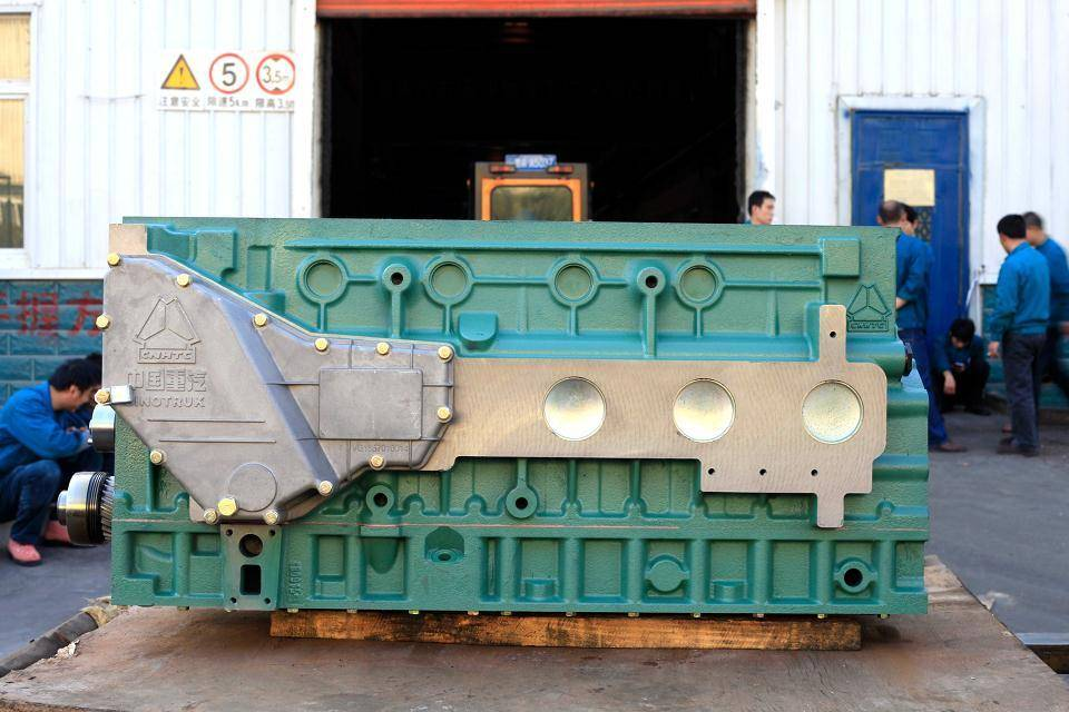 howo a7 engine parts cylinder body