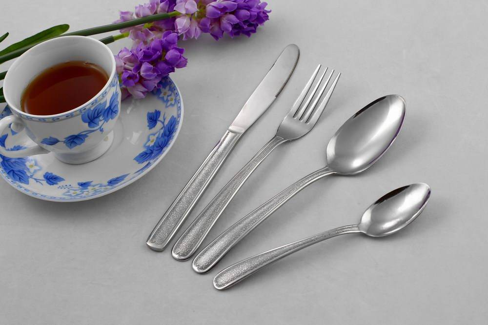 24pcs fashion flatware with mirror polished