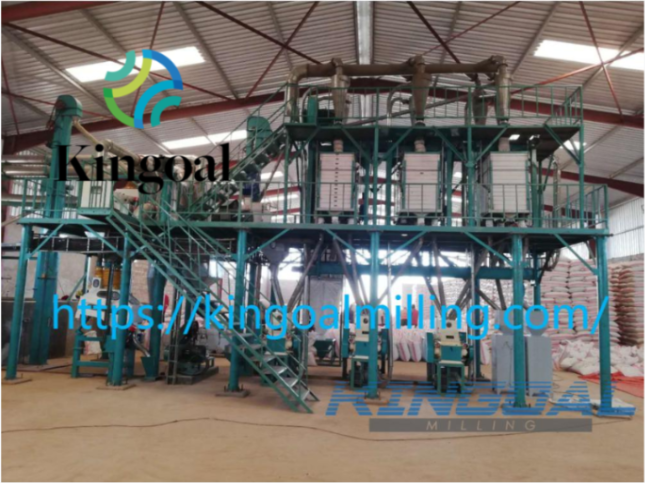 Sell Flour Mill with Complete Set