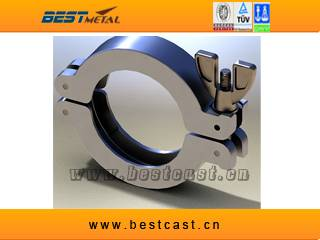 Clamp for Elastomer Seal