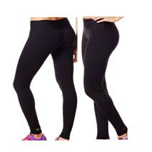 Perfect Long Leggings Sew Black--Running for fitness yoga absorb sweat permeability tight black pant