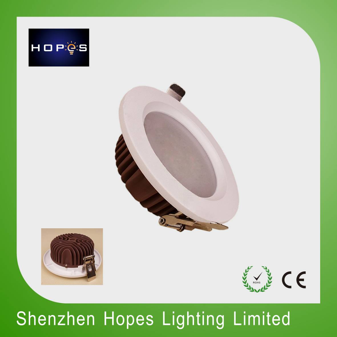 3'' 7W  COB led ceiling down light