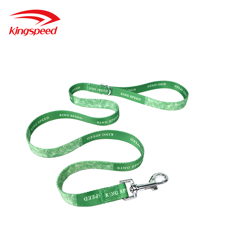 2018 Promotional Christmas Personalized Decorative Patterned Sublimation Pet Leash for Dogs