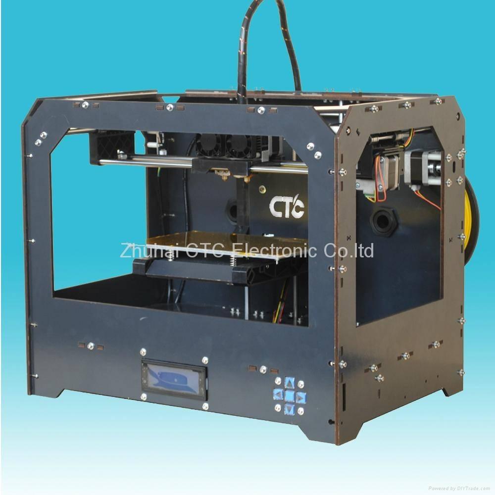 CTC Bizer Black Casing 3D Printer 3D Drucker Desktop