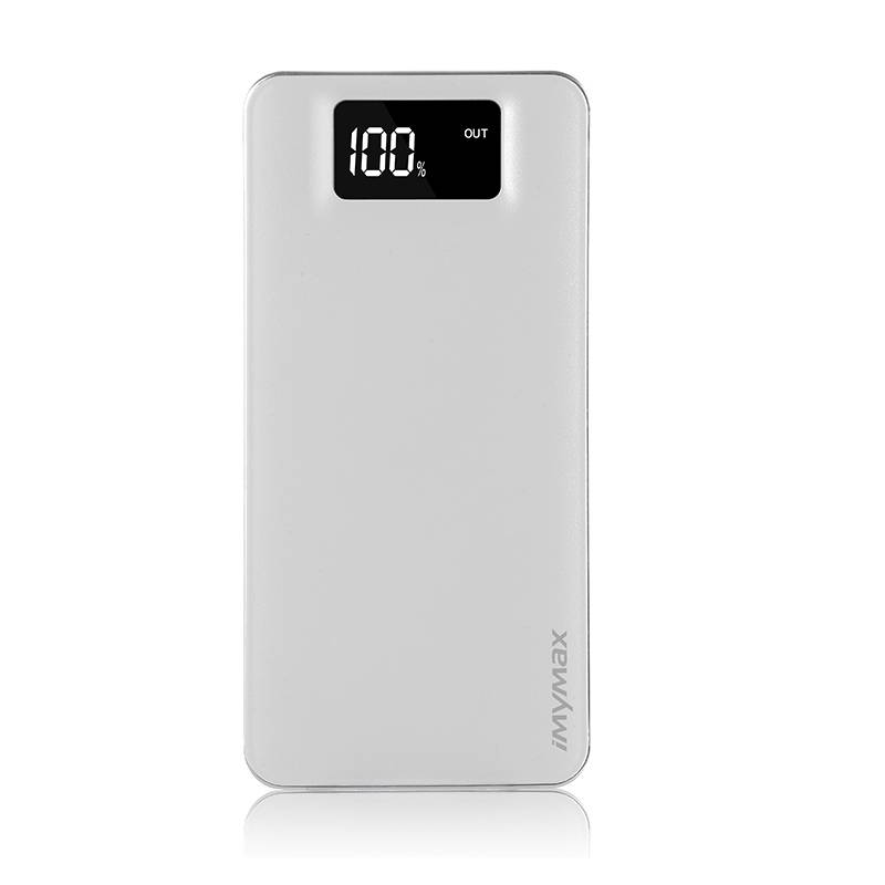 Imymax Portable 12000mAh External LED Indication Business Power Bank