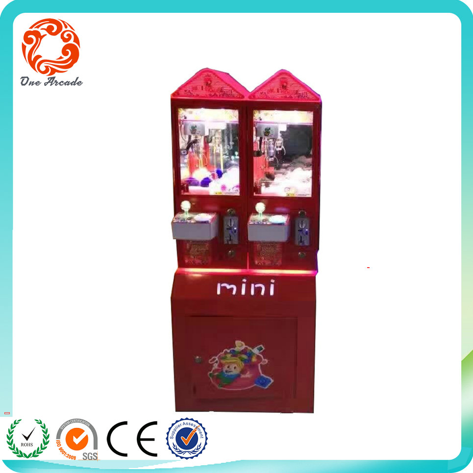 most popular funny coin operated prize game machine with cheap price