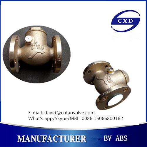 JIS marine valve-strainer