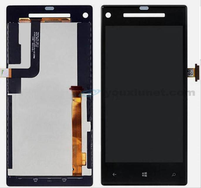 For HTC 8X C620e C625e LCD digitizer touch screen Assembly