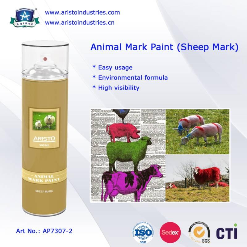 Aristo Animal Mark Spray Paint (Sheep Mark)